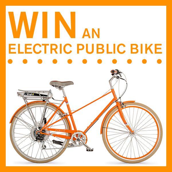 i just entered to win you can too public bionx e bike. Black Bedroom Furniture Sets. Home Design Ideas