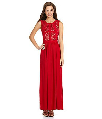 a8019af130b Morgan and Co Lace VBack Gown  Dillards-what about this for spring formal