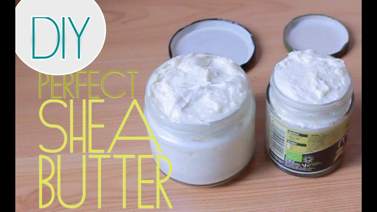 Diy my perfect homemade creamy shea butter stays fluffy