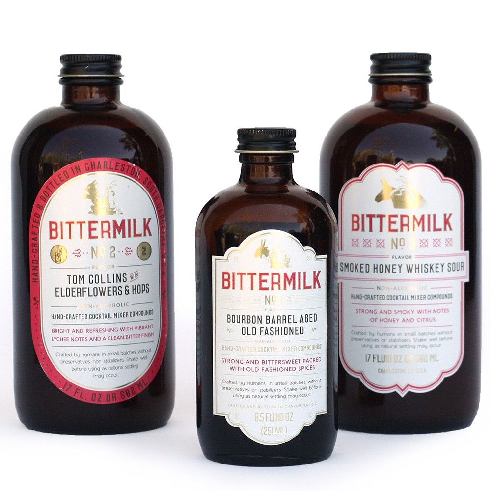 Bittermilk Mixers Is A Must For Great Bar Mixers. Makes