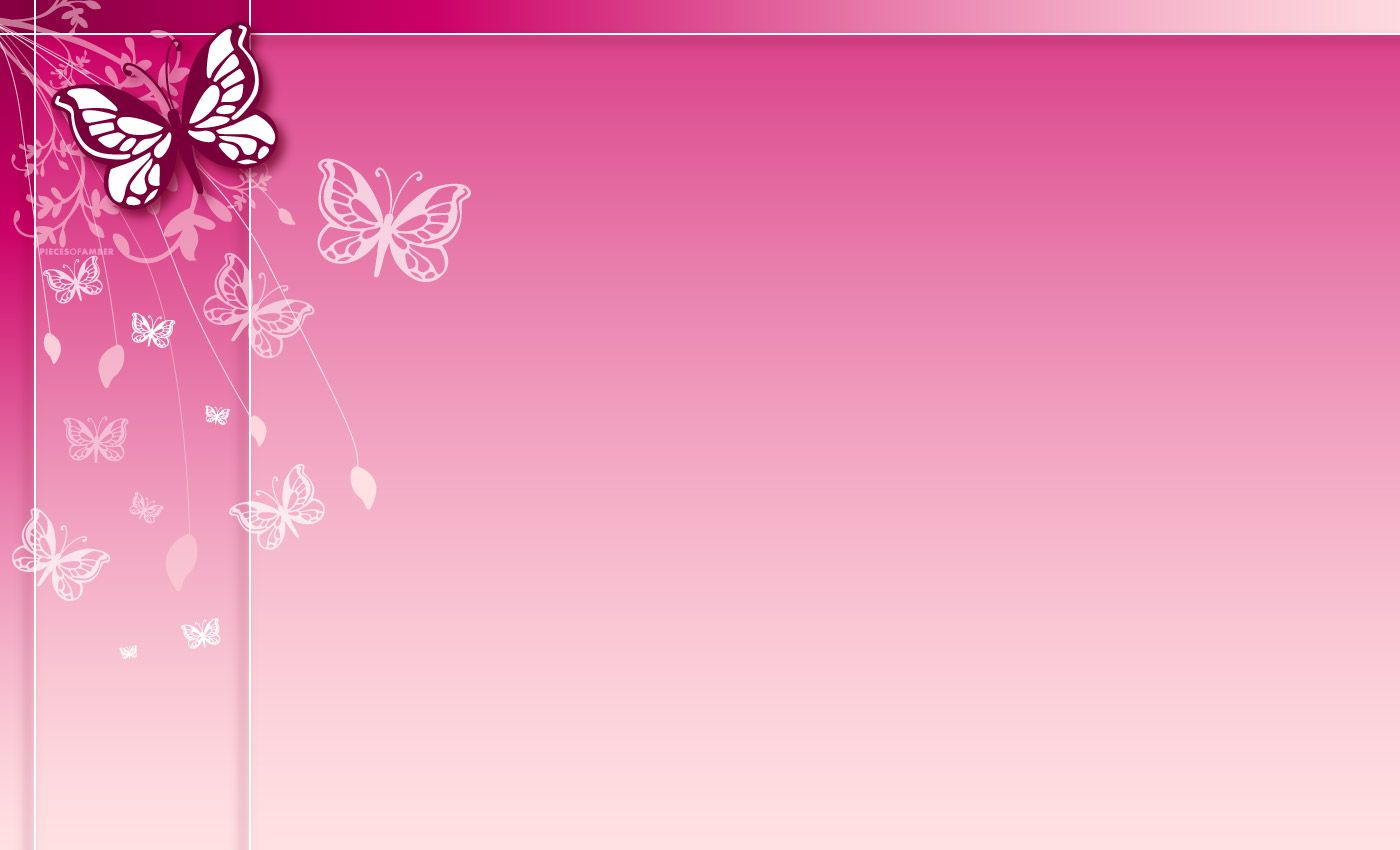 Pink Flower Border Pink Cute Border Clipart Labels Tags
