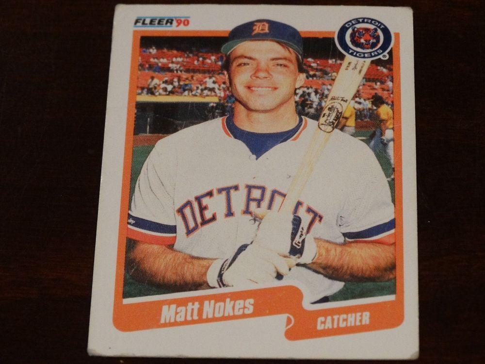 Detroit Tigers Baseball Card Bundle 11 Cards Detroit