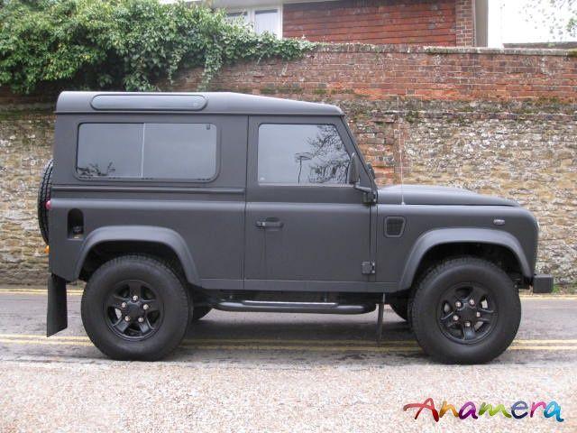Matte Black Defender Land Rover Land Rover Defender Defender