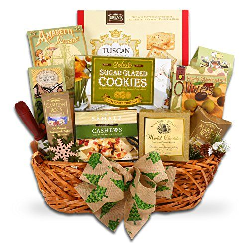 the festive gourmet deluxe gourmet foods christmas gift basket to view further for