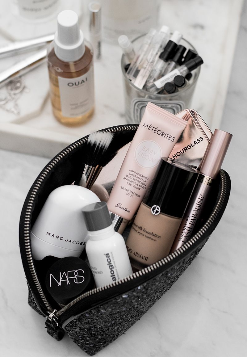 What's in my makeup bag: May