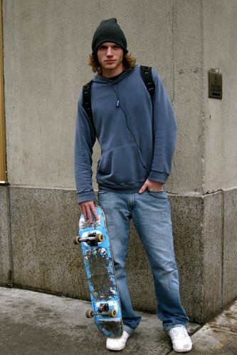 On The Street…..Skater on 9th Ave. Skate Style ae216340a31