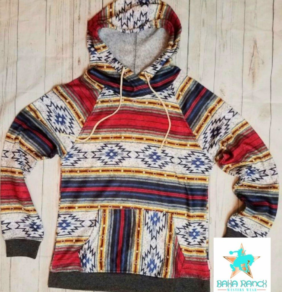Monarch Mountain Aztec Hoodie #aztec