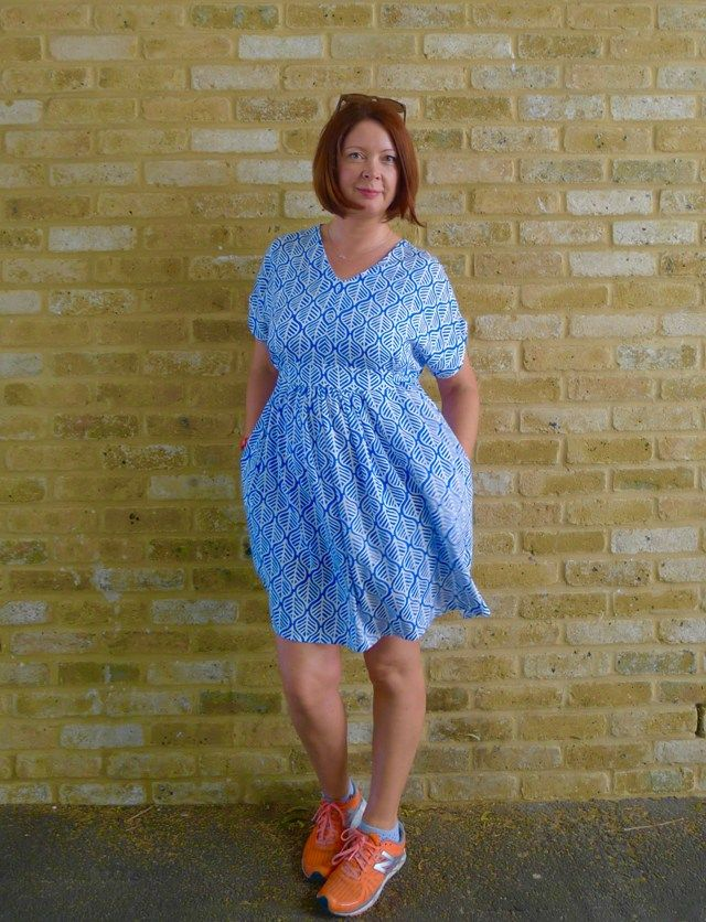 closet case patterns charlie caftan in viscose (also includes a good ...