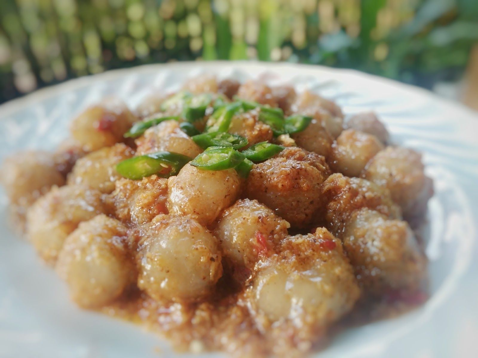 Resep Segala Masakan Resep Membuat Cilok Aci Bumbu Kelapa Resep Masakan Masakan Resep