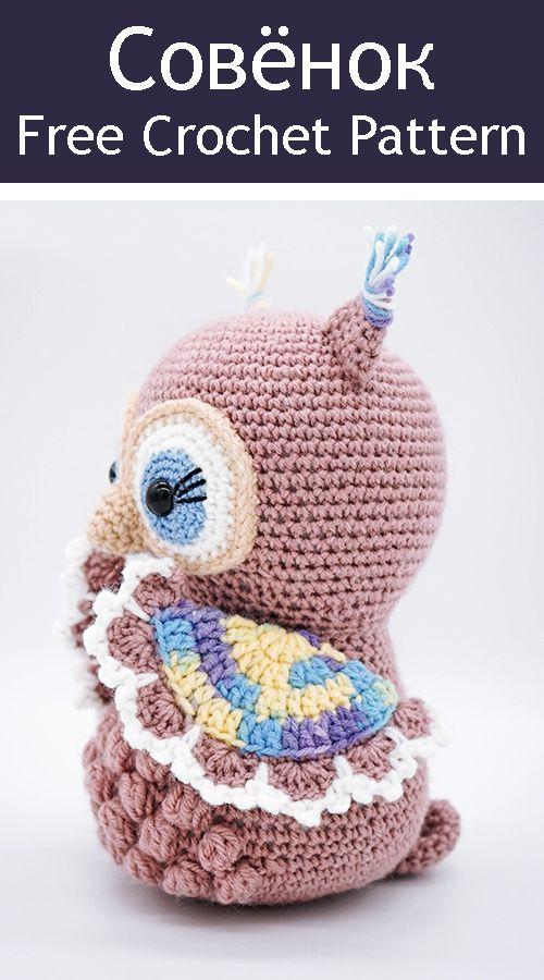 PDF Совёнок. FREE amigurumi crochet pattern. Бесплатный мастер-класс, схема описание для вязания амигуруми крючком. Игрушки своими руками! Сова, птица, птичка, owl, bird, lechuza, coruja, chouette, eule, sowa, vogel, ptak, pájaro, pássaro. #амигуруми #amigurumi #amigurumidoll #amigurumipattern #freepattern #freecrochetpatterns #crochetpattern #crochetdoll #crochettutorial #patternsforcrochet #вязание #вязаниекрючком #handmadedoll #рукоделие #ручнаяработа #pattern #tutorial #häkeln #amigurumis #amigurumicrochet