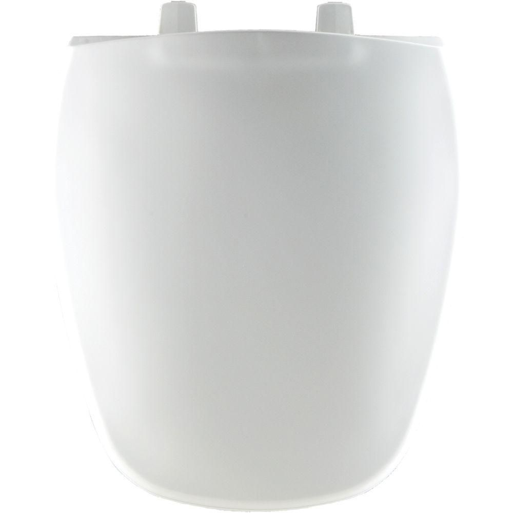 Groovy Bemis Round Closed Front Toilet Seat In White Products Uwap Interior Chair Design Uwaporg
