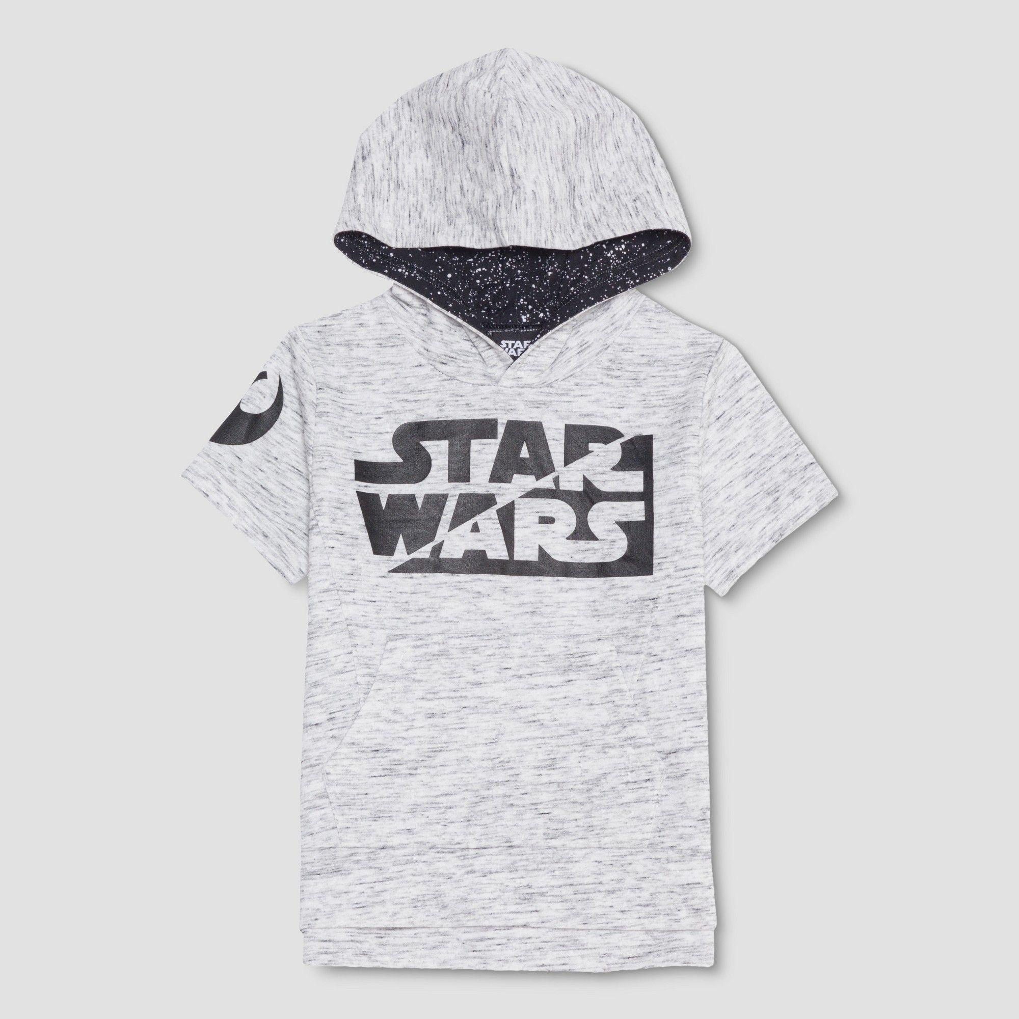 Jedi Multi Badge Boys Sweatshirt Star Wars Grey Official