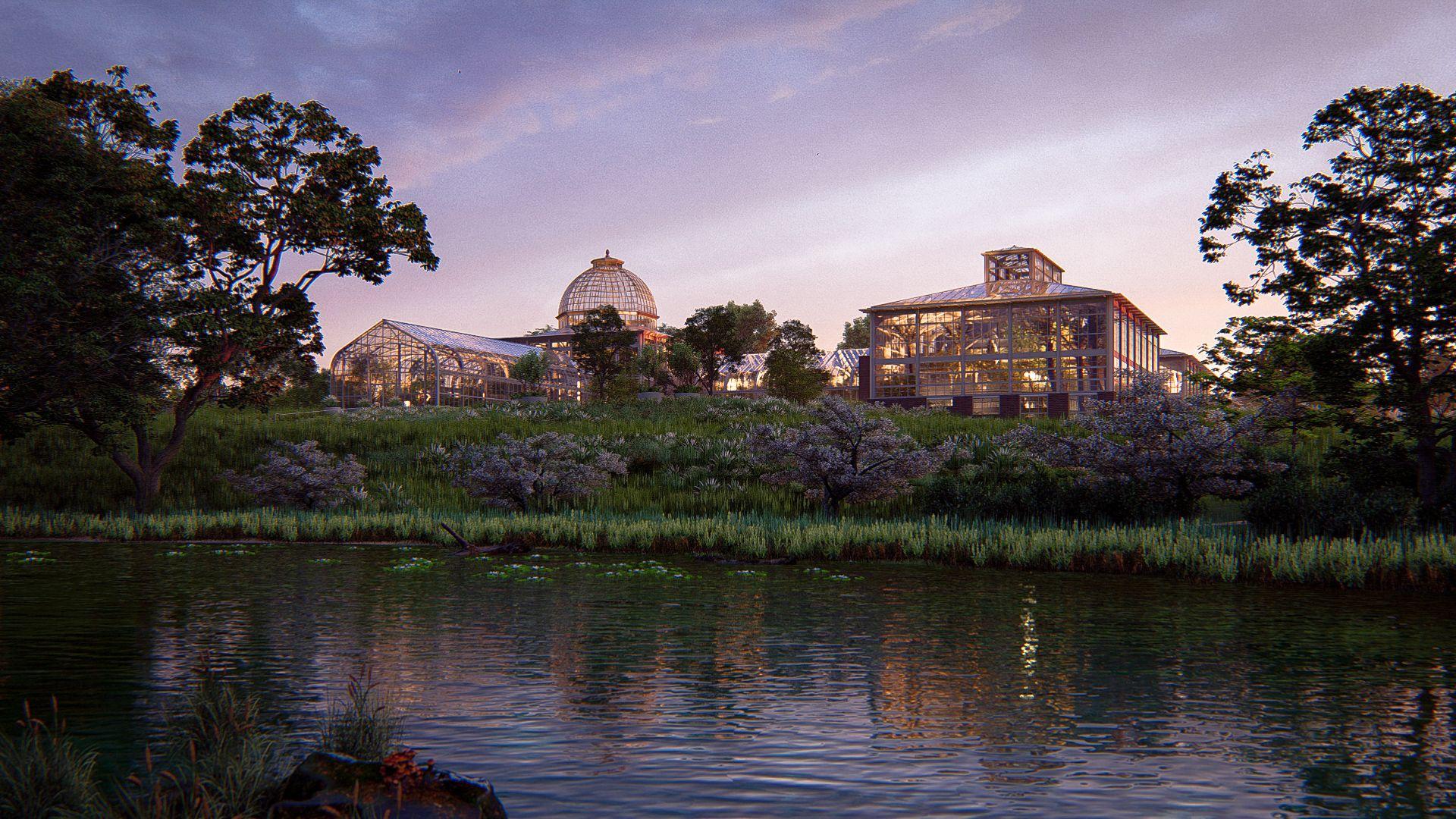 ewis Ginter Botanical Gardens in Richmond, VA in 2020