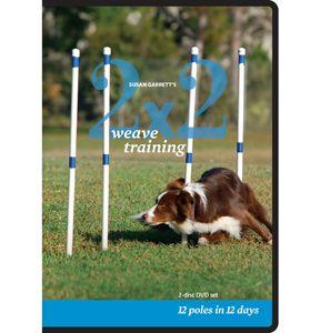 2x2 weave training 2dvd set  papillon dog up dog puppy