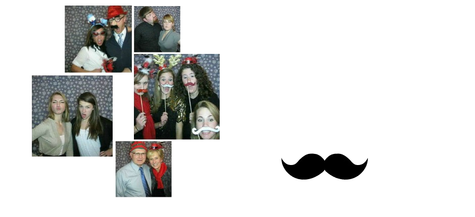 Make It Snappy Photo Booths: Gotta love those mustaches!
