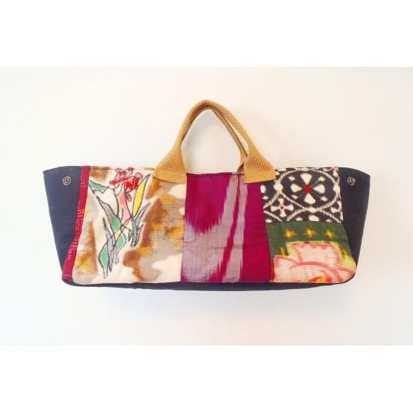 bag from meisen kimono-Cindylee thinks this out of ties for carrying a wine bottle to a friends!