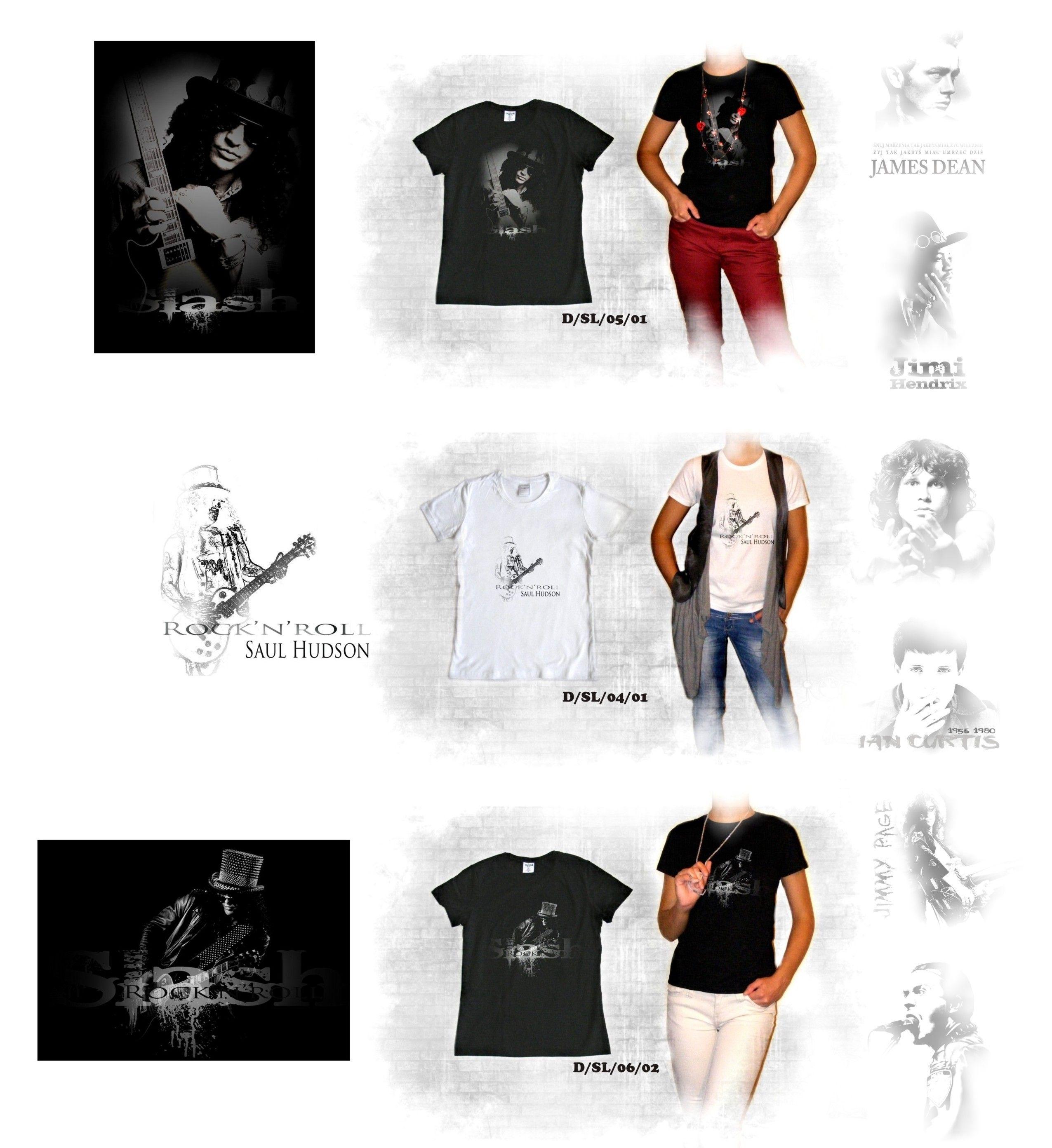 13 Wzorow Koszulka T Shirt Slash Guns N Roses Koszulki Guns N