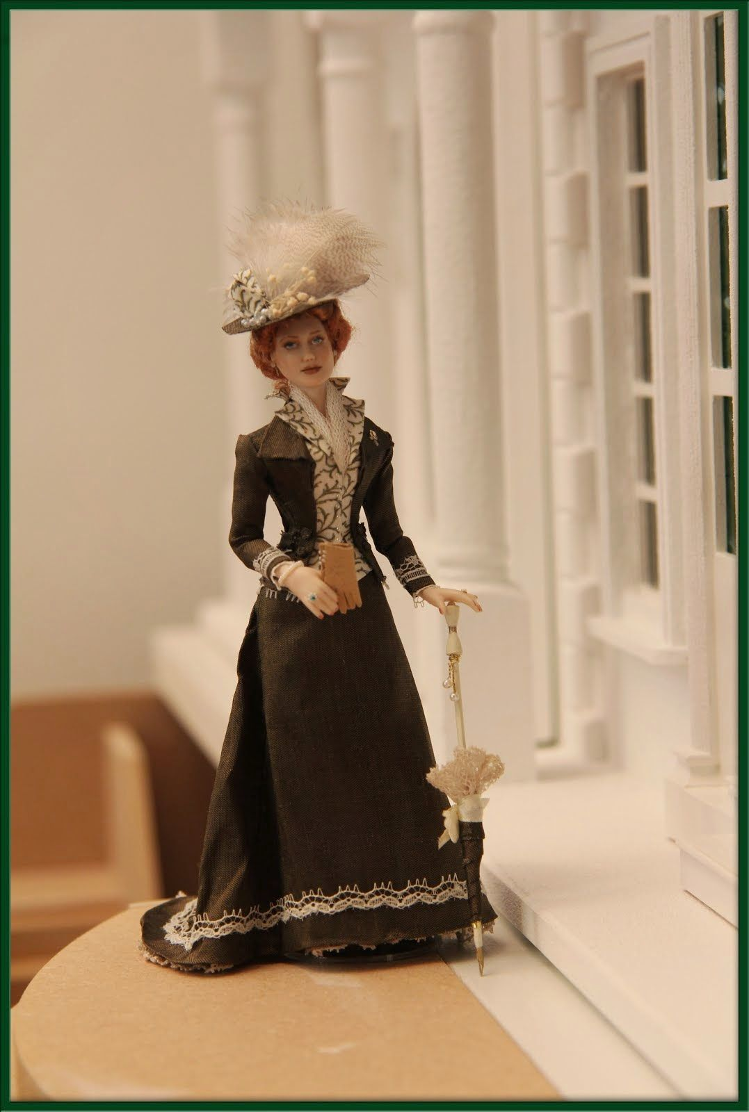 Lady elisa by made by anne marie kwikkel holland doll for Case alla moda