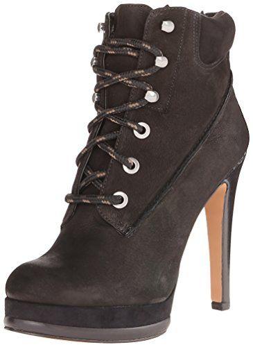 Nine West Women S Alpachee Nubuck Boot Black Black 5 5 M Us Nine West Http Www Amazon Com Dp B00lm56tk2 Ref Cm Sw Lace Ankle Boots Women Shoes Fashion Boots