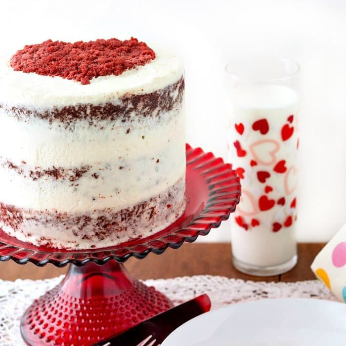 Old School Original Red Velvet Cake Recipe With Ermine Frosting The Smoothest Lightest Frosting T In 2020 Red Velvet Cake Recipe Red Velvet Cake Velvet Cake Recipes