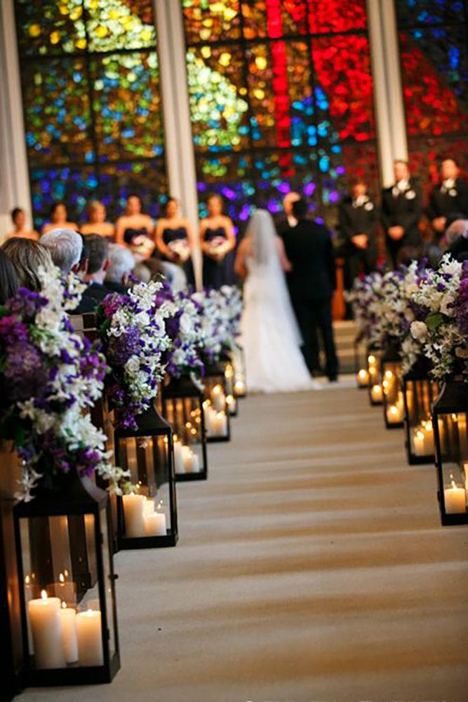 45 breathtaking church wedding decorations pinterest casamento beautiful and breathtaking church wedding decorations see more http junglespirit Image collections