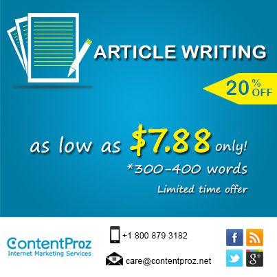 power article writer