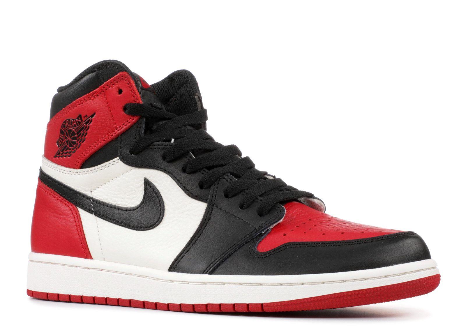 Air Jordan 1 Retro High Og Bred Toe Air Jordan 555088 610 Gym Red Summit White Black Air Jordans Best Sneakers Air Jordans Retro