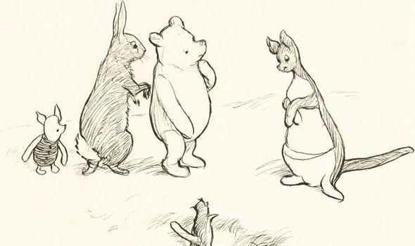 Original WinniethePooh drawings set to go up for auction