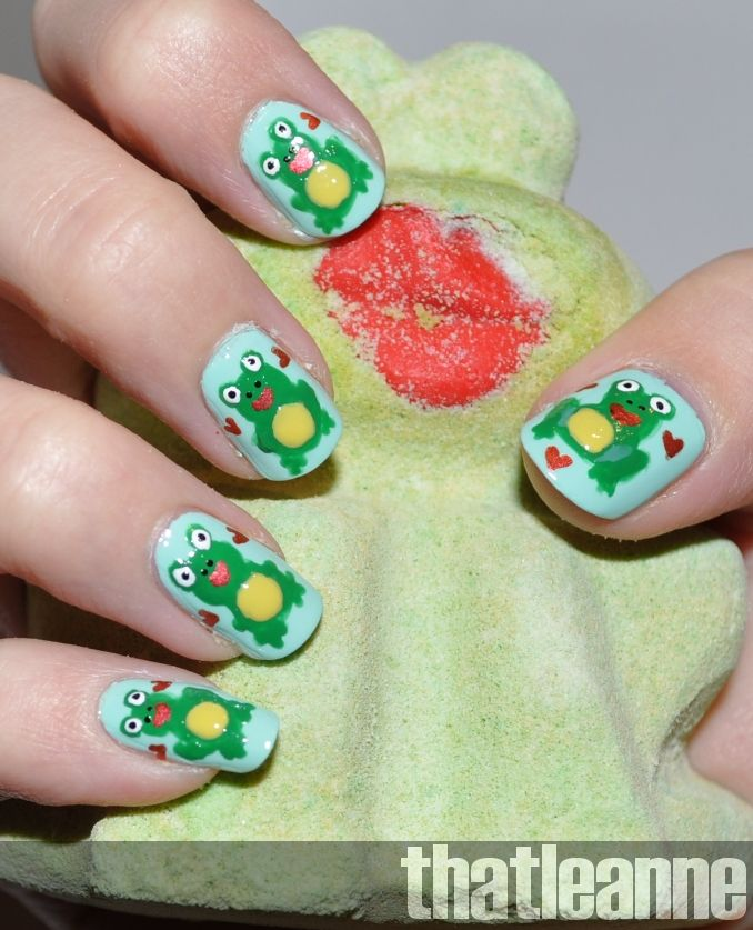 Image result for frog nail art | FROG NAIL ART | Pinterest | Frogs
