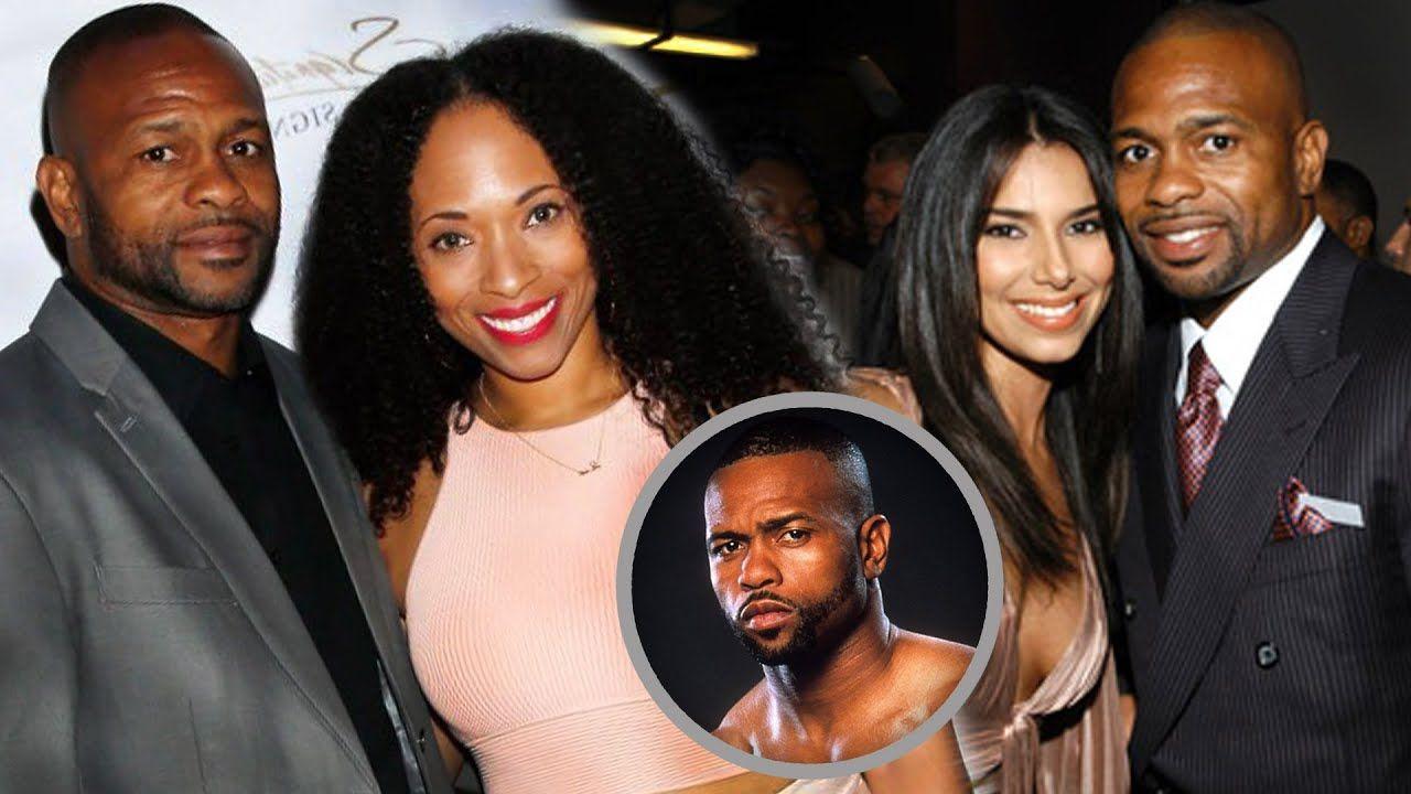 Roy Jones Jr Family Photos With Son And Wife Natlyn Jones 2020 In 2020 Roy Jones Jr Sports Gallery Famous Sports