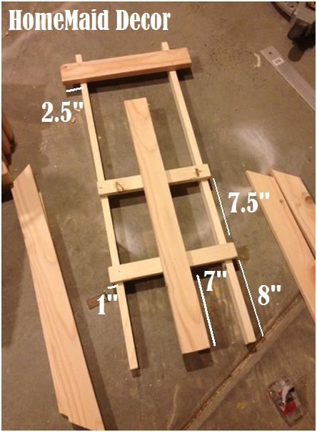 HomeMaid Decor: Day 10: Make A Decorative Sled