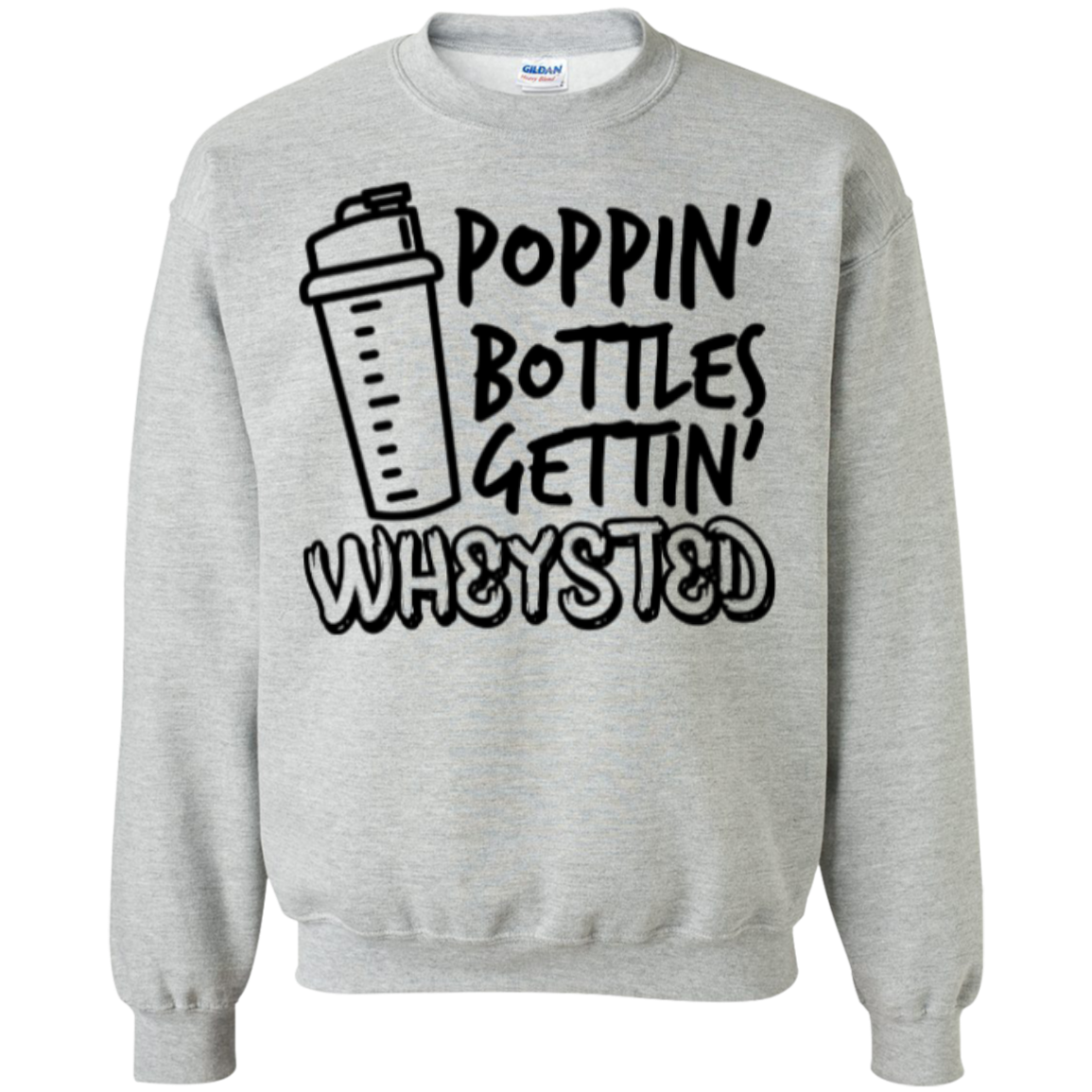 Gettin' Wheysted Unisex Crewneck Sweatshirt