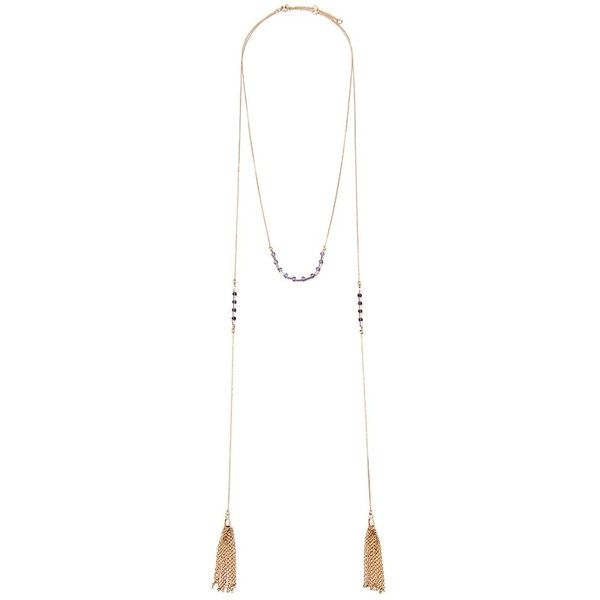 Forever 21 Beaded Tassel Necklace ($5.99) ❤ liked on Polyvore featuring jewelry, necklaces, beaded tassel necklace, beading jewelry, beaded necklaces, tassel jewelry and forever 21 jewelry
