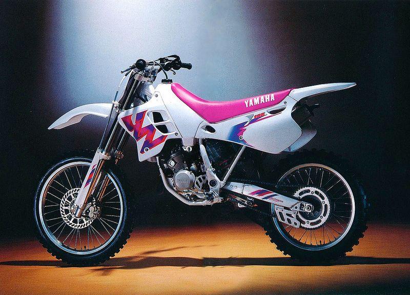 1993 Yamaha Yz125 Uk Model Yamaha Motocross Motorcross Bike Yamaha Dirt Bikes