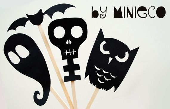 Scary Shadow Makers Stick puppets
