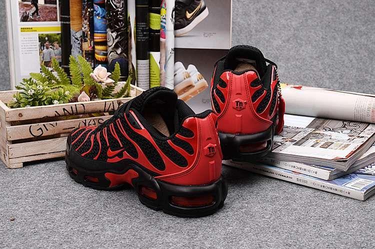 huge discount ae0de bf115 Nike Air Max TN Men Black Red