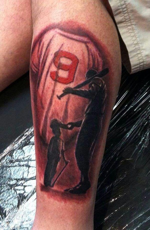 3c989af65 Baseball tattoo designs and ideas (31) …   Baseball   Baseb…