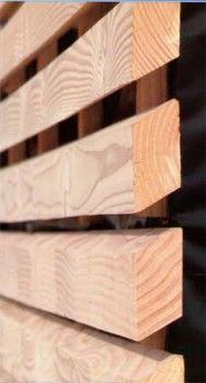 bardage claire voie en douglas essence douglas de france fabrication bois massif hors. Black Bedroom Furniture Sets. Home Design Ideas