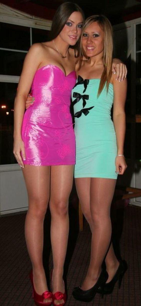 Fashion for party girls   Frauen in strumpfhosen