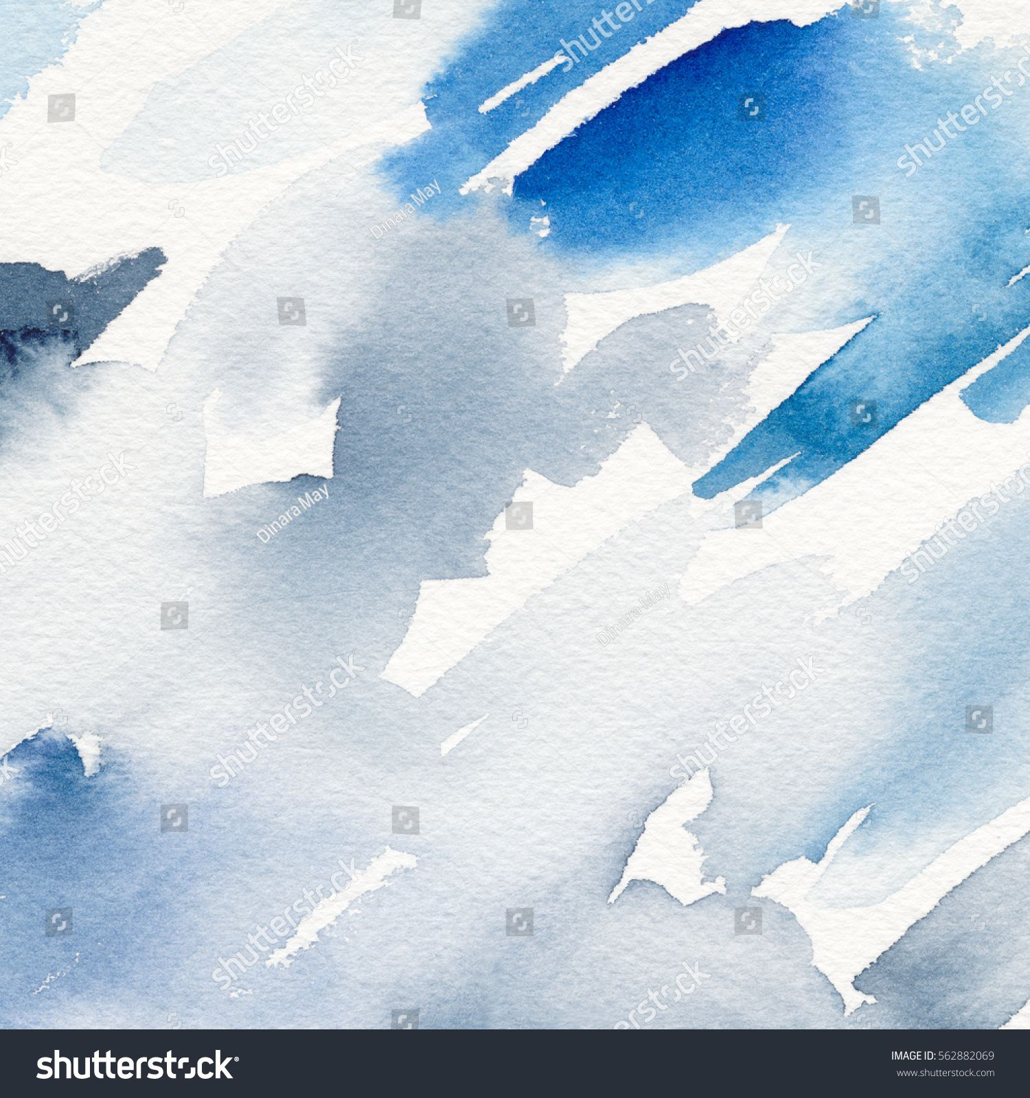 Abstract Watercolor Painting Watercolor Background Sponsored