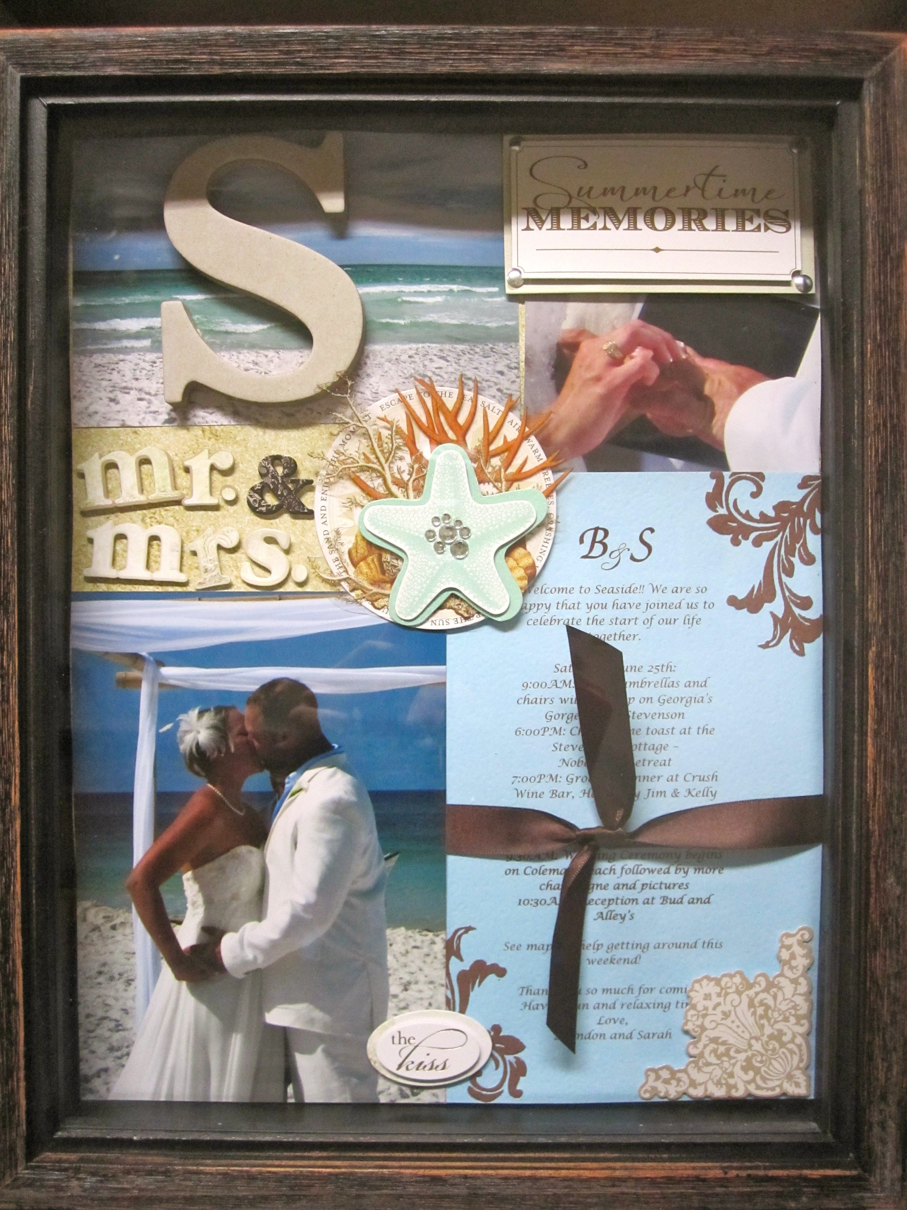 Pin By Christelle Widmeyer On Gift Ideas Wedding Shadow Box