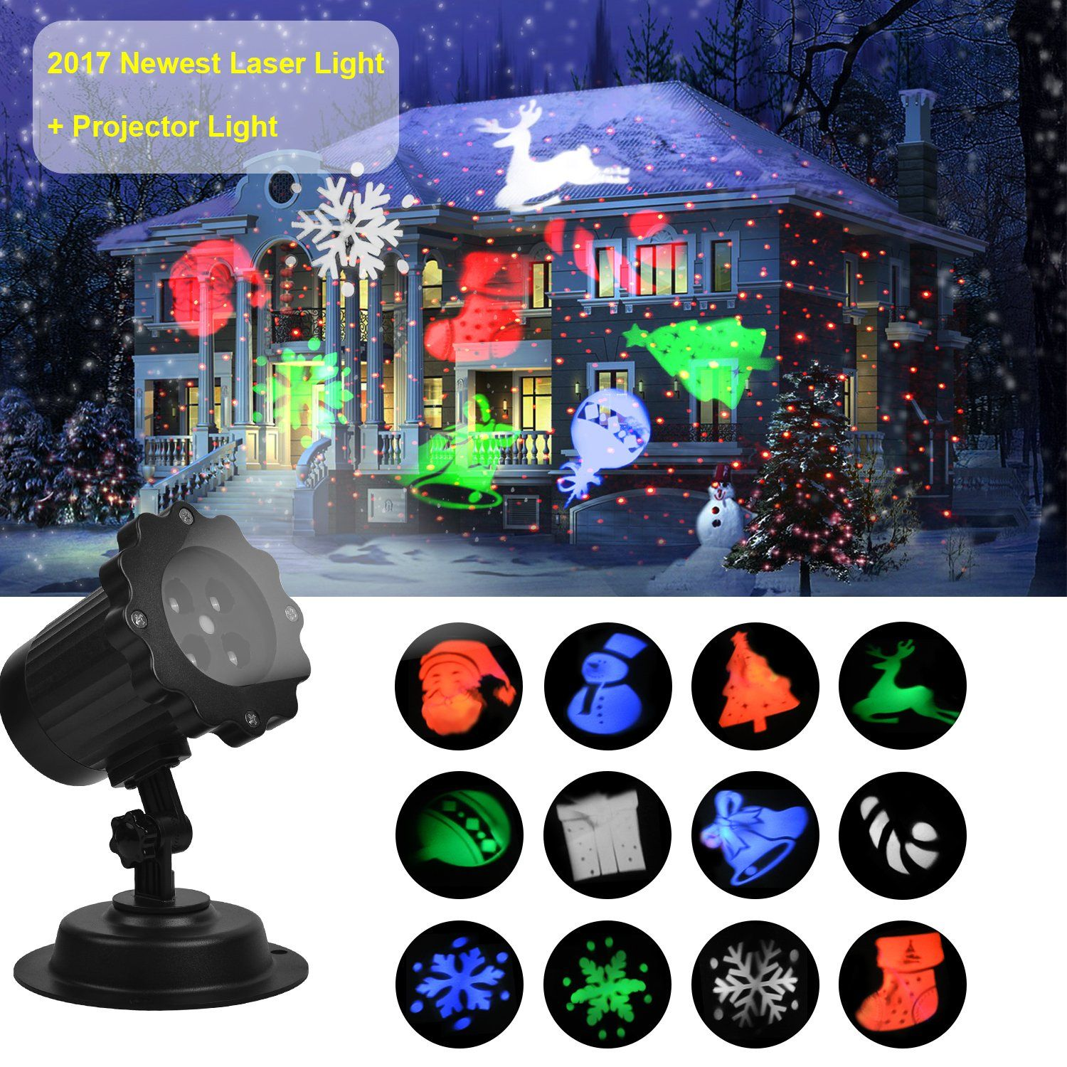 for light waterproof drillpro landscape patio holiday lighting projector green lights christmas laser projection dp outdoor valentines red com star valentine amazon s