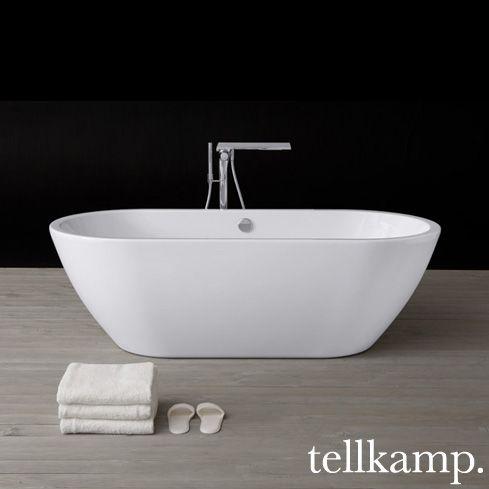 Tellkamp Cosmic Freistehende Oval Badewanne   0100 087 A/CR   Reuter  Onlineshop