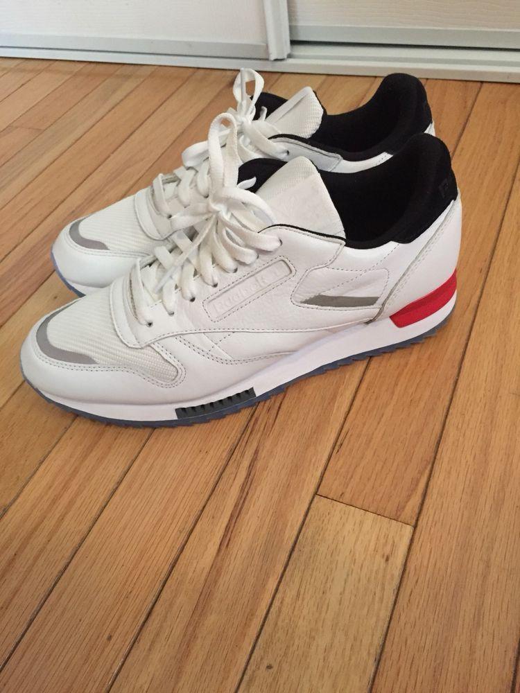e1ab6922d5c Men s REEBOK Classics CL LEATHER RIPPLE LOW BP Sz 10.5 Sneaker - BS5219 -  WHITE  fashion  clothing  shoes  accessories  mensshoes  athleticshoes  (ebay link)
