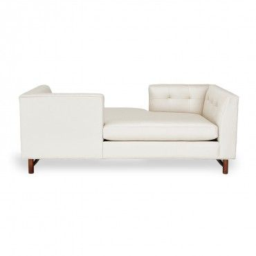 CF: Awesome In The Center Of A Larger Room.: DwellStudio Harrison Tete A  Tete Sofa   So Cute! Nice Design