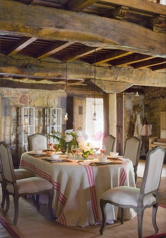 rustic Tuscany T O S C A N A Pinterest Beams French country
