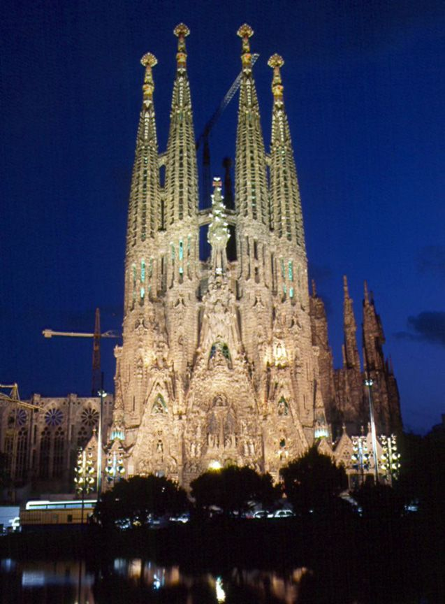 Goudi Cathedral Barcelona Spain Loved The City Just