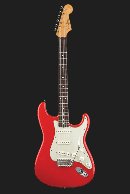 Mk Signature Strat Red Electric Guitar Guitar Fender Guitars Stratocaster