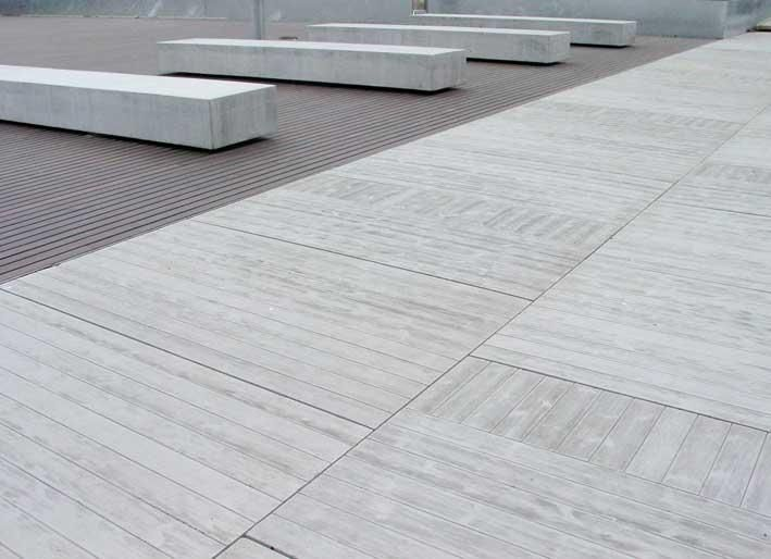 Pavimento exterior de losas de hormig n de 191x52x8 cm y - Pavimento exterior barato ...