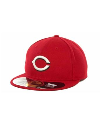 size 40 96ddd 171b1 New Era Cincinnati Reds Authentic Collection 59FIFTY Hat - Red 8